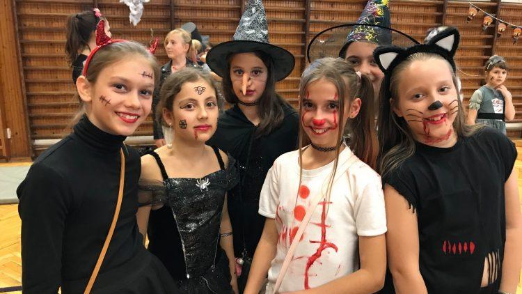 Halloween buli a 4-8. osztályosokkal