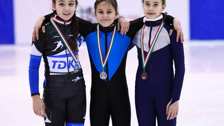 Tóth Anna kétszeresen is az országos legjobb gyorskorcsolyában