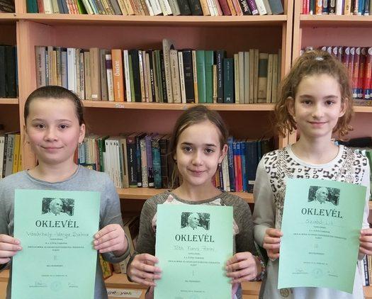 Móra Ferenc olvasási és szövegértési verseny – iskolai forduló