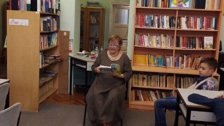 Író-olvasó találkozó a Rókusiban