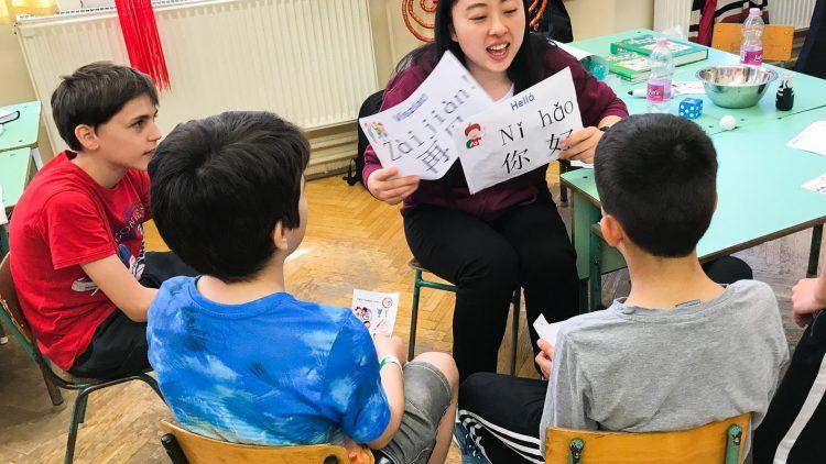 A 2019/20-as tanévtől kínai szakkör
