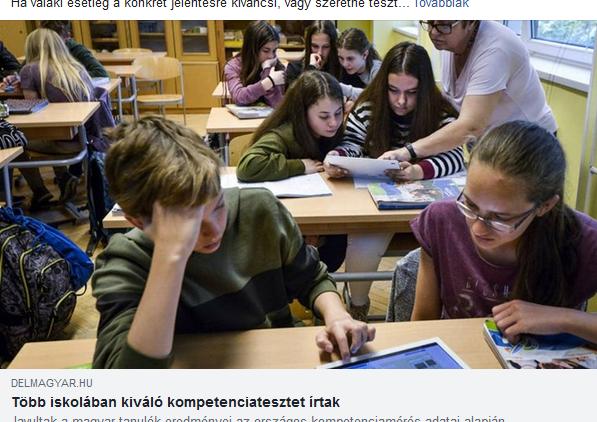 Szeged tíz legeredményesebb általános és középiskolája … benne vagyunk!