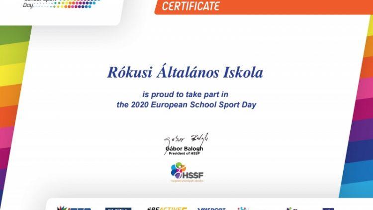 Európai Diáksport napja (ESSD)