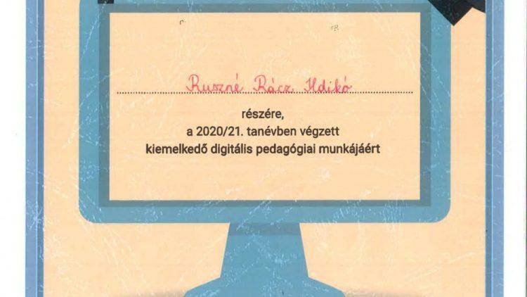 Digitális Jólét Program a Digitális pedagógiáért